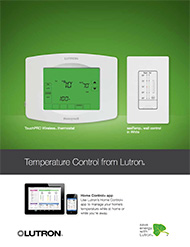 Lutron Thermostat Brochure
